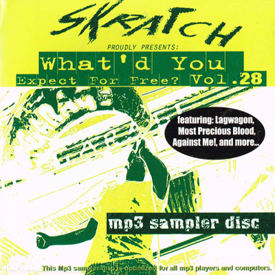 Skratch Magazine: What'd You Expect for Free? Vol. 28 cover artwork