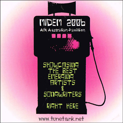 TuneTank @ MIDEM 2006 cover artwork